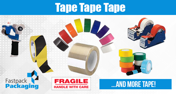 Packing,  Masking,  Duct Tape & Tape Dispensers